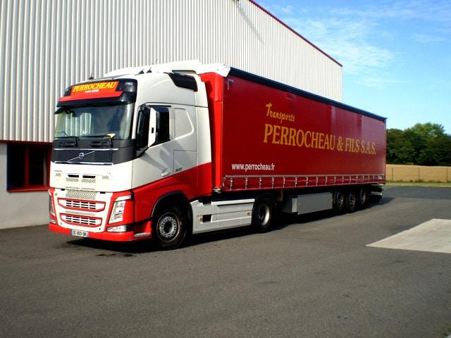 Transports routiers de marchandises interurbains. - Legé